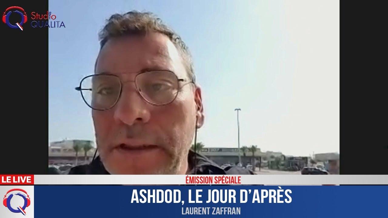 Ashdod, le jour d'après