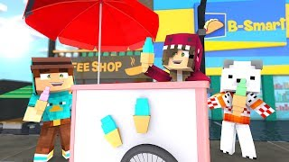 WE HAVE OUR ICE MANUFACTURE *We sell to everyone* - minecraft ROBLOX roleplay