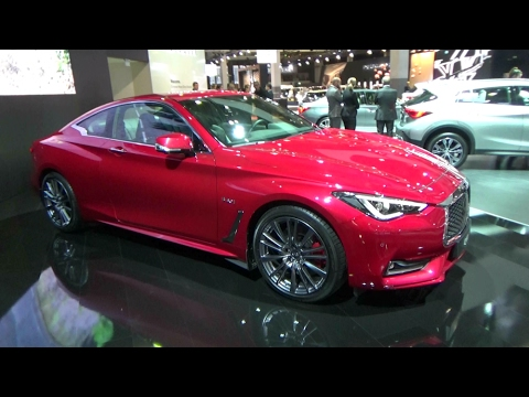 2017 Infiniti Q60S Sport Tech - Exterior and Interior - Auto Show Brussels 2017