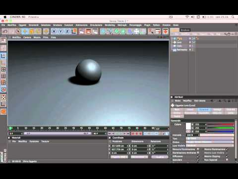 "Tutorial Cinema 4d ""Salvare Pressettaggi in cinema 4d"""