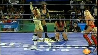 AAA: Fabi Apache, Mari Apache, Cinthia Moreno vs. Rain, Goddess, Jennifer Blake, 2009/10/17