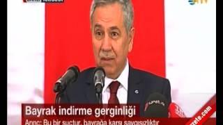 Bülent Arınç'tan Abdullah Abdulkadiroğlu'na 'İndireceksin' Cevabı