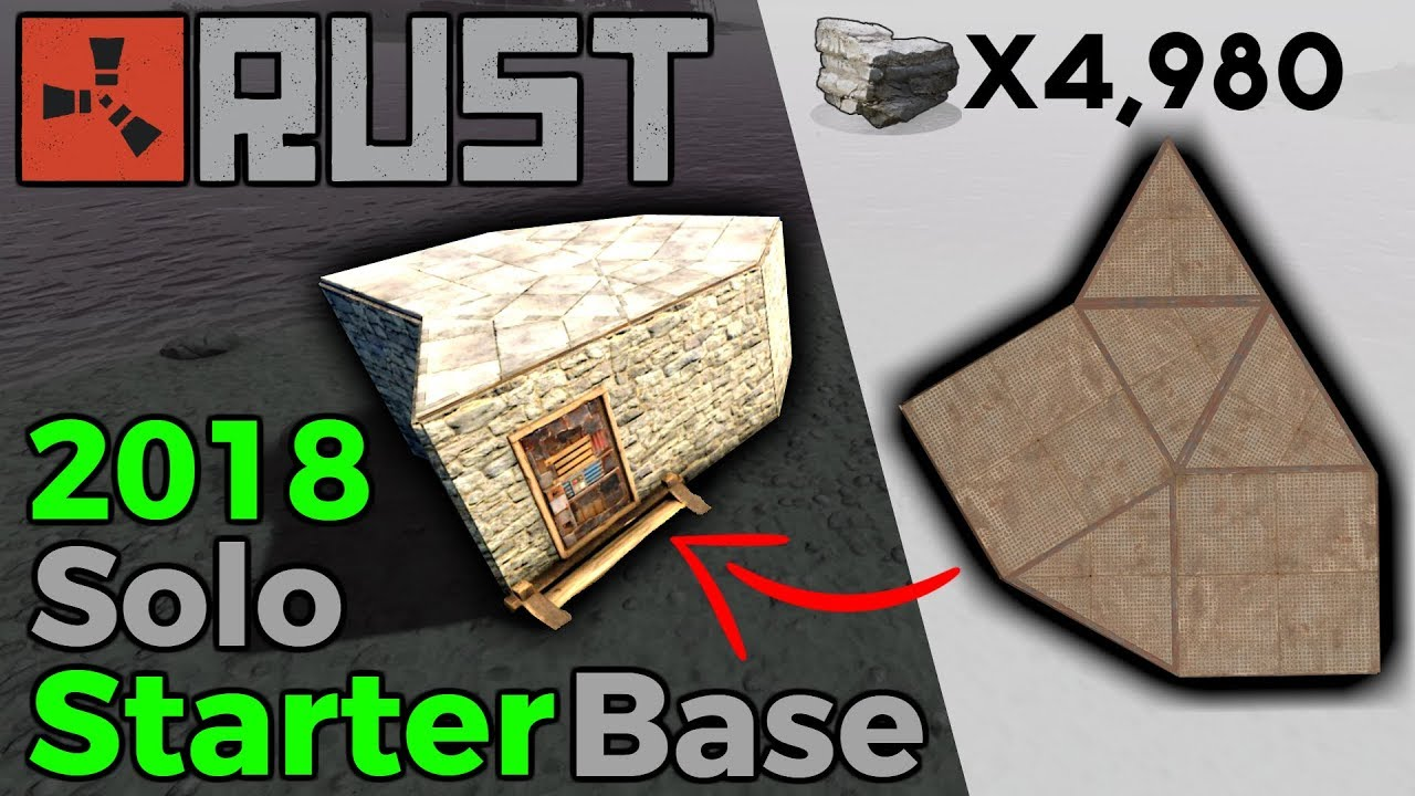 Rust best solo starter base building 30 2018 youtube rust best solo starter base building 30 2018 malvernweather Images