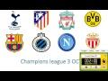 Live stream Champions league Barcelona, Tottenham, Liverpool, Atletico, Dortmund - Countdown