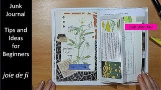 Junk Journal Tips And Ideas For Beginners
