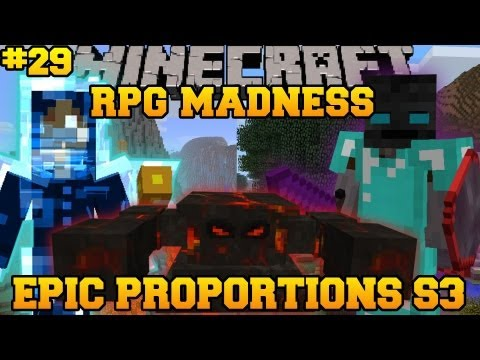 Minecraft : RPG MADNESS - PIG MAGE BOSS FIGHT - Ep. 29 : Let's Play - Epic Proportions