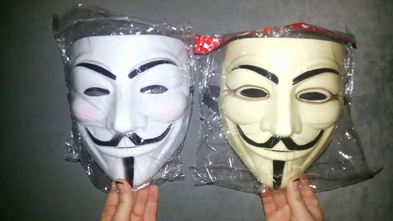 Как сделать белую маску 54