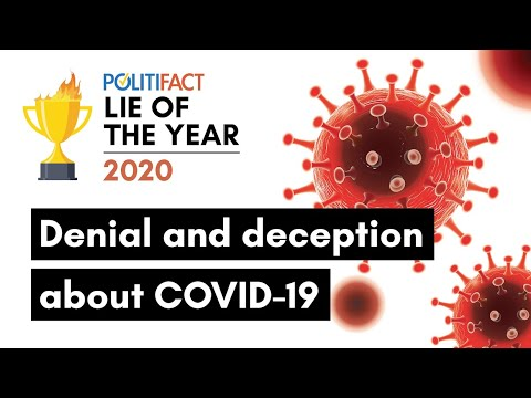 2020 Lie of the Year: Coronavirus Disinformation - YouTube