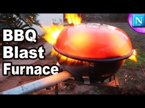 BBQ Blast Furnace DIY
