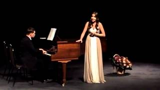 Young Russian singer Erofeeva Anastasia 17 y o 2012 г  Competition in Moscow second day