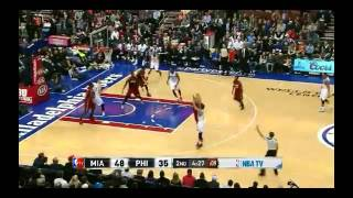 NBA CIRCLE - Miami Heat Vs Philadelphia 76ers Highlights 17 Jan. 2014 www.nbacircle.com
