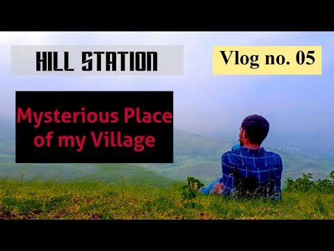 First vlog of my Village   Mysterious Place   Action Explore   vlog no. 05