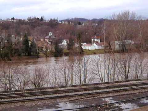 View of the City~ Connellsville Pa. 15425 March 13 2010 Flooding~5