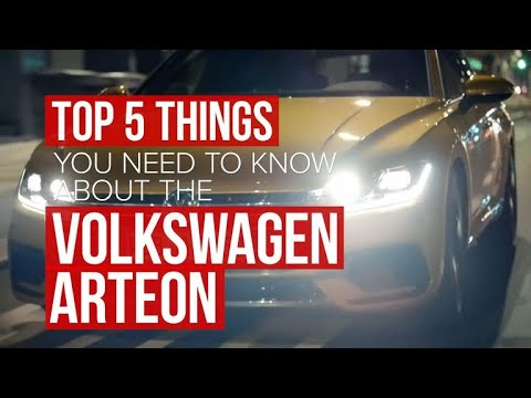 Five things you need to know about that 2018 Volkswagen Arteon