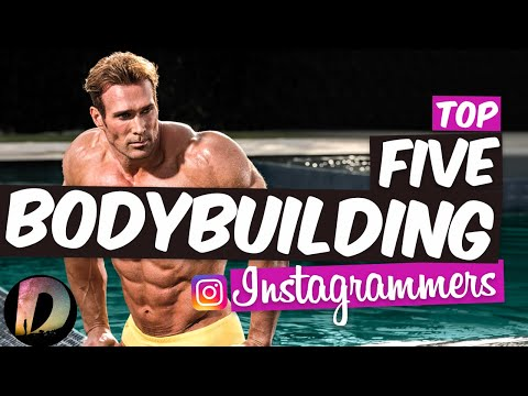 The Top 5 Bodybuilding Influencers On Instagram