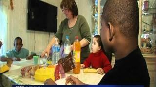 4 enfants ha�tiens, interdits de s�jour en France par Gu�ant.