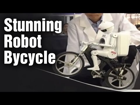 Stunning Robot Bycycle | Chiba Exhibition | Japan | Desire