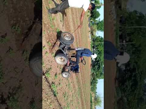 Home made mini tractor created by Navin G. Patel