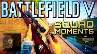 Battlefield 5: Squad Moments #2 (Battlefield V Multiplayer Gameplay)