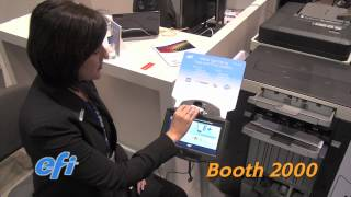 EFI M500 Self Serve Copy & Print Station - Must See 'Ems Best of Category Winner at GRAPH EXPO 2012 thumbnail