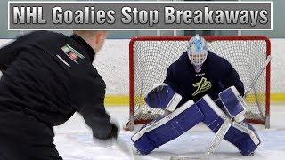 NHL Coach Tells Me How To Stop Breakaways.....