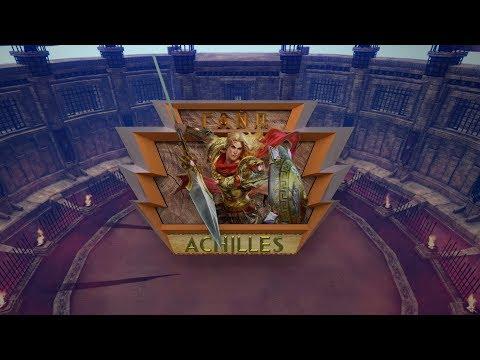 видео: Гайд на Ахиллеса. smite