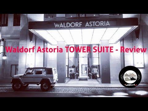WALDORF ASTORIA BERLIN - TOWER SUITE REVIEW   allBlack