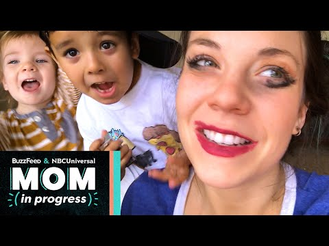 I Let My Kids Do My Makeup For A Week