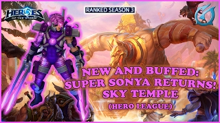 Grubby | Heroes of the Storm | New and Buffed - Super Sonya Returns - HL S3 - Sky Temple