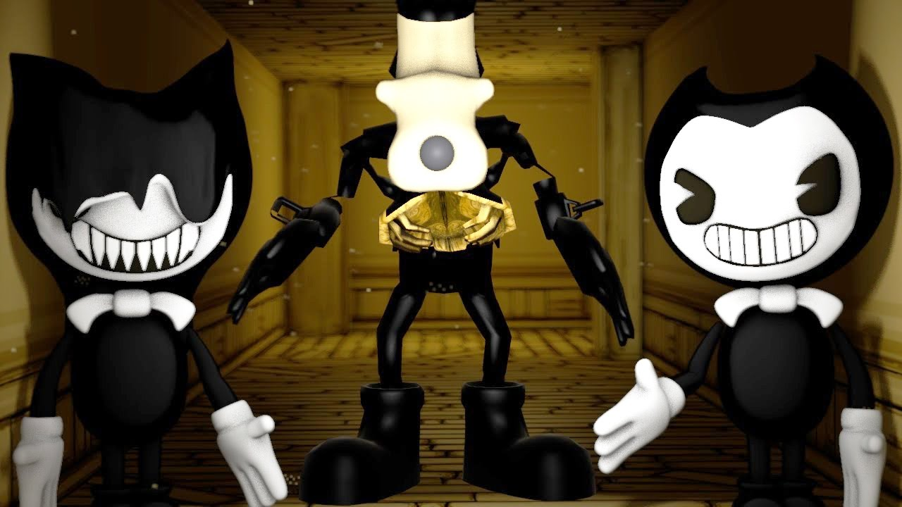 bendy and the ink machine animation
