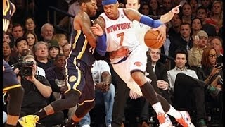 Paul George Outduels Carmelo Anthony at MSG