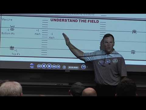 Arkansas Coach Chad Morris Media Football Clinic FULL
