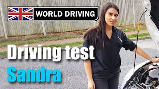 Parallel Parking On Driving Test  - Sandra