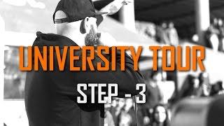 UNIVERSITY TOUR - STEP 3 / UFAR / #TOURDETJJA