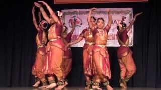 SRI VENKATESWARASWAMY TEMPLE, CTA, & NATS: DEEPA DANCERS: SHAT CHAKRA PRABHANDA