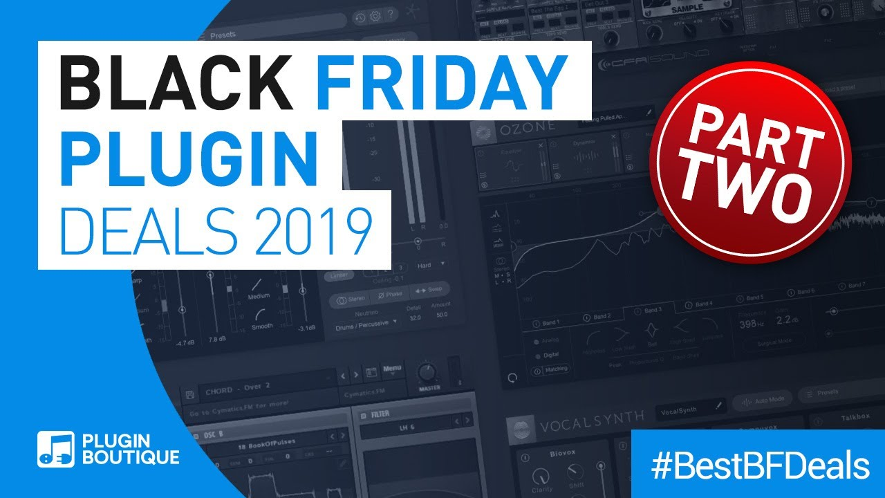 Best Black Friday VST Plugins 2019 | Cheap Deals Part 2