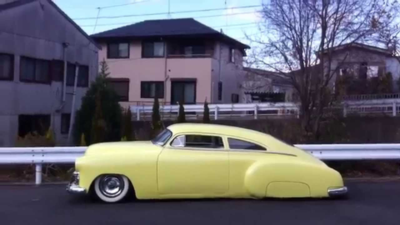 1949 Chevy Fleetline Chopped Top 4 Kustom Youtube