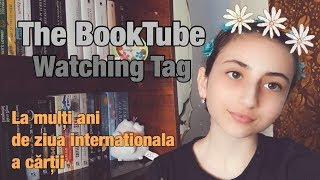 The BookTube Watching Tag