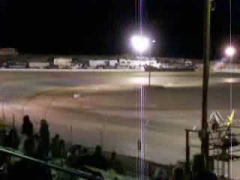 Reno-Fernley Raceway dirt track re-opening night 2009, part 1 of 3
