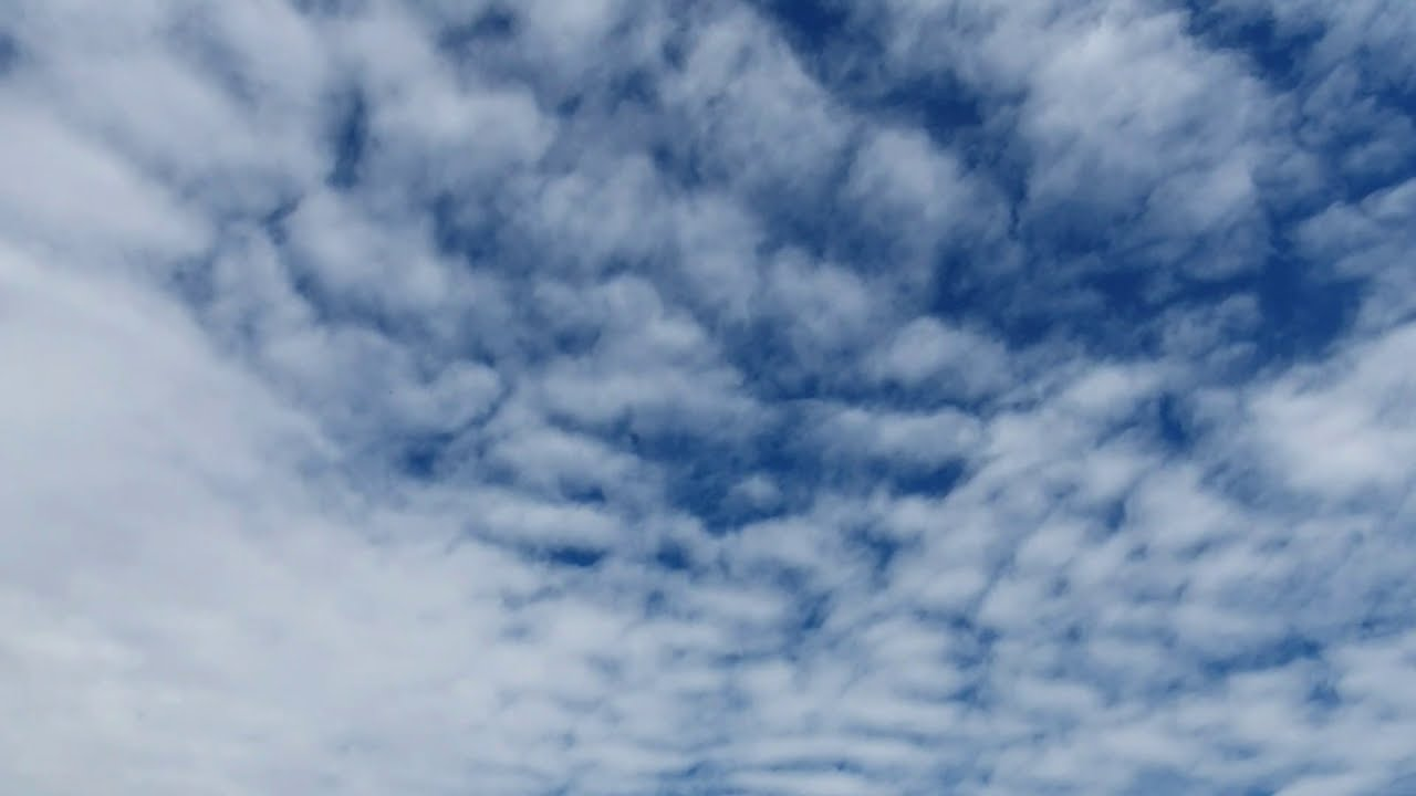 blue sky background video time lapse clouds moving footage youtube channel 10 minutes - EP 146