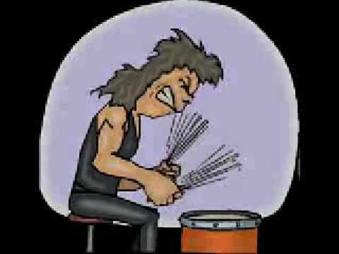 Cartoon Drummer - YouTube