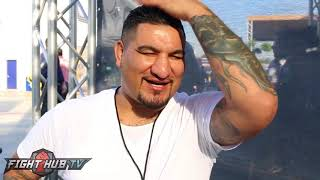 Chris Arreola wants to see McGregor vs Malignaggi