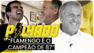 """ZICO: """"FLAMENGO É O CAMPEÃO DE 87, CLARO"""""""