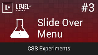 CSS Experiments #3 - Slide Over Menu