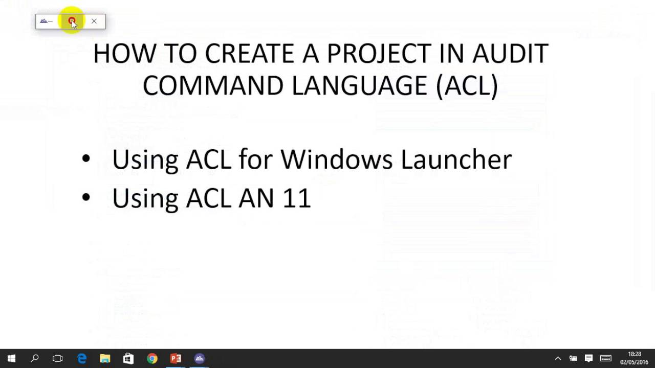 audit command language tutorial pdf
