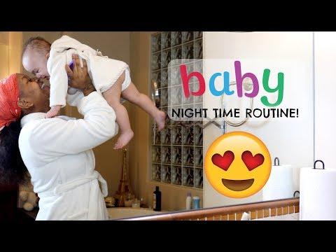 BABY NIGHT TIME ROUTINE  Domo Wilson