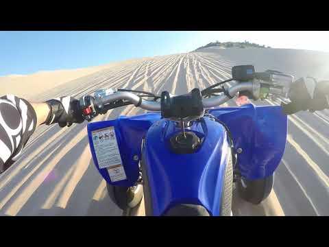 YFZ 450R Sand Mountain Solo Riding