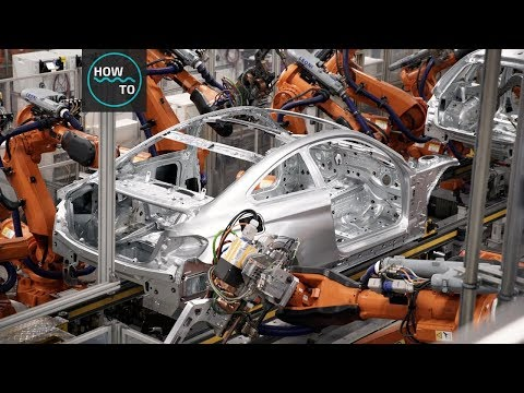 How Amazing Is Car Manufacturing In Factory | How To Machines