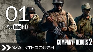 Company of Heroes 2 Walkthrough Gameplay - Part 1 Campaign (Mission 1 - Stalingrad Station) HD 1080p