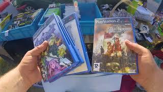 LIVE VIDE GRENIER 30 jeux RARE PS2 PS3😱😱
